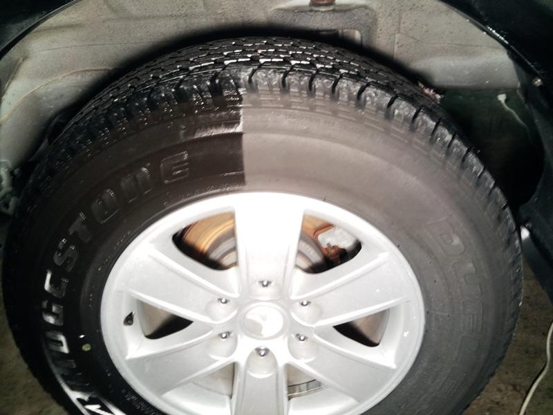 Ošetření pneumatik