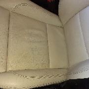 Čištění kožených sedadel včetně ošetření